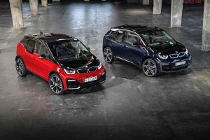BMW i3 und BMW i3s Elektroautos im Vergleich