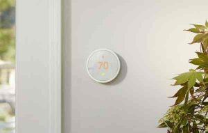 Schlaues Thermostat der Google-Tochter Nest: Nest Thermostat E